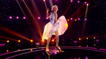 Pin Montané se la juega con sensual performance como Marilyn Monroe