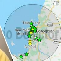 """""""Fue en la zona en que ocurrió el terremoto del 2010"""": Experta explica sismo de 6,6 en la Región del Biobío"""
