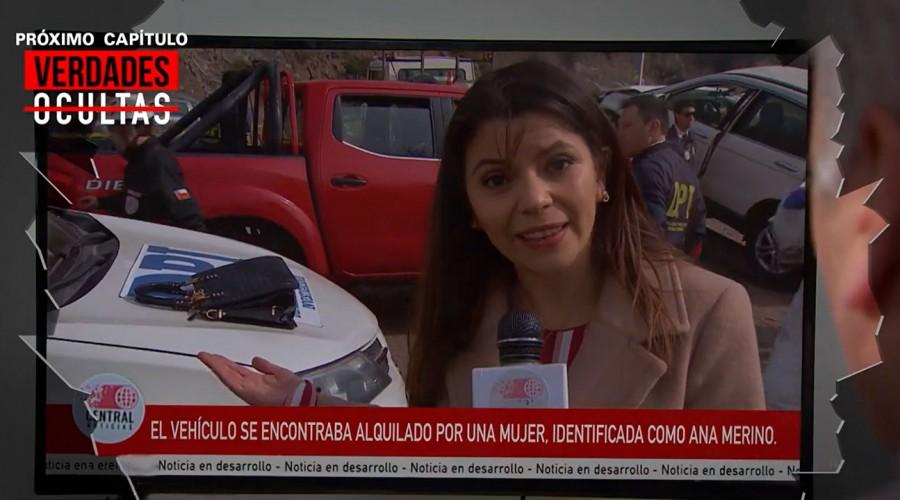 Avance: Vehículo de Rocío será encontrado tras accidente