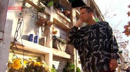 Cris jura ante la tumba de Marco que matará a Eliana