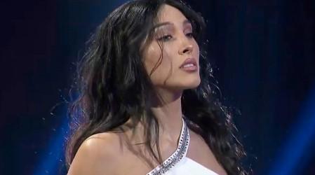 Piamaría llega al escenario al más puro estilo de Myriam Hernández: ¿Se salvará de la zona de riesgo?