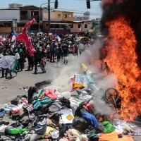 """""""Es inaceptable la violencia"""": Delegado Presidencial de Tarapacá tras marcha anti inmigrantes en Iquique"""