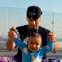Raúl Peralta y Lisandra Silva comparten el talento del pequeño Noah para el fútbol