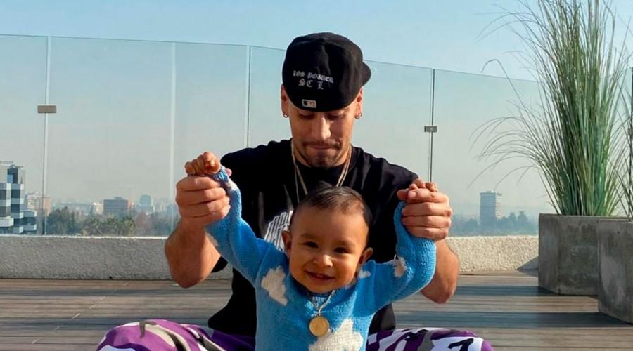 ¿Bailarín o futbolista?: Raúl Peralta y Lisandra Silva comparten el talento del pequeño Noah para el fútbol