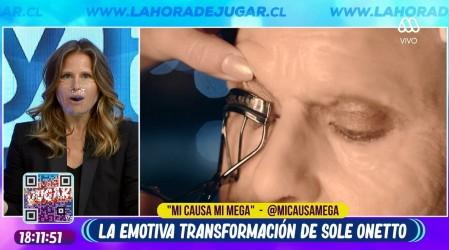 Soledad Onetto sorprende en La Hora de Jugar con su increíble transformación