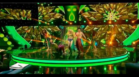 Piamaría se transforma en Britney Spears en