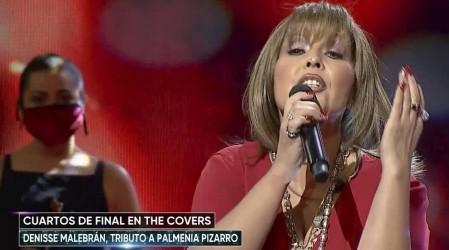 """Denisse Malebrán llenó de emoción el escenario con el tema """"Nuestro juramento"""" de Palmenia Pizarro"""
