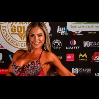 """Nicole """"Luli"""" Moreno gana el primer lugar en el Torneo Nacional de Fitness"""