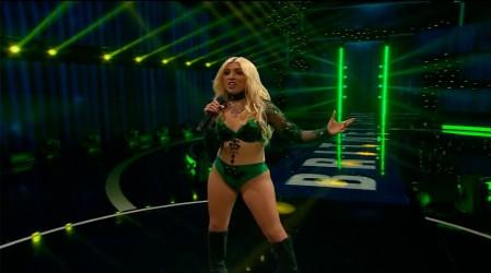 """Al ritmo de """"Crazy"""" Piamaría Silva se transformó en Britney Spears"""