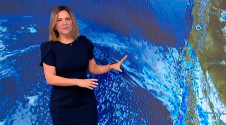 Vuelve la lluvia: Michelle Adam anuncia precipitaciones en el sur del país y parte de la Región Metropolitana