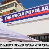 Medicamentos hasta 80% más baratos: Inauguran farmacia popular en Providencia