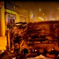 """""""Todavía estoy en shock"""": Conductora Uber pierde su auto en manifestaciones del 18-O"""