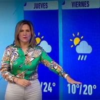 Michelle Adam pronostica precipitaciones para este viernes y tardes calurosas para el fin de semana