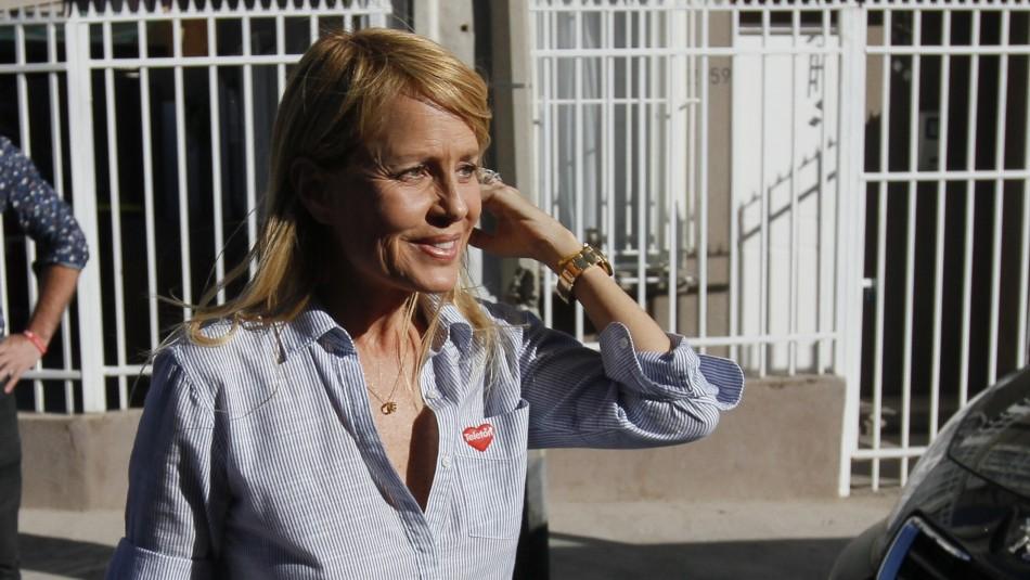 Cecilia Bolocco / Agencia Uno