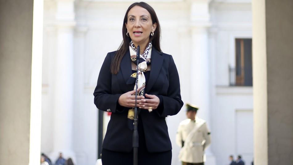 La vocera de Gobierno, Cecilia Pérez. / AgenciaUno