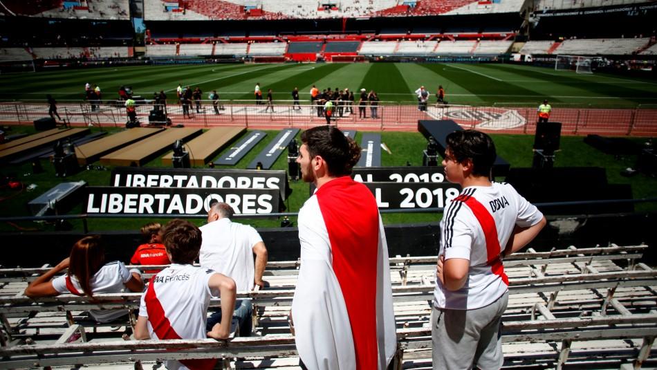 Suspendida final de Copa Libertadores. /Reuters