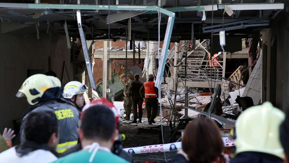 Explosión en Sanatorio Alemán / Agencia Uno