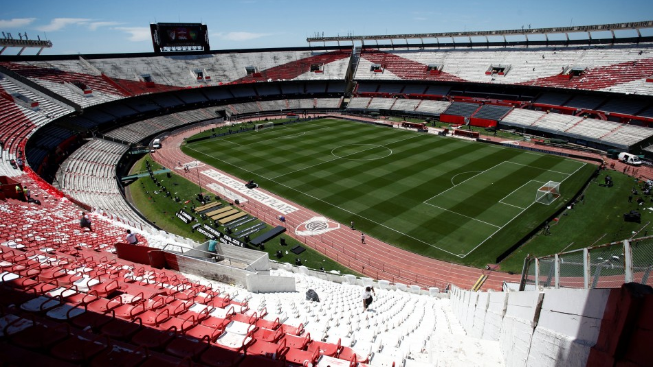 Estadio de River Plate. / Reuters
