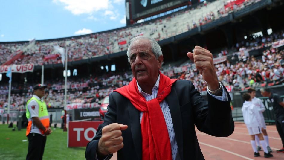 Presidente de River Plate.