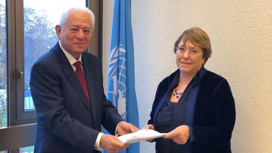 Gobierno venezolano invita a Bachelet a viajar al país / Twitter