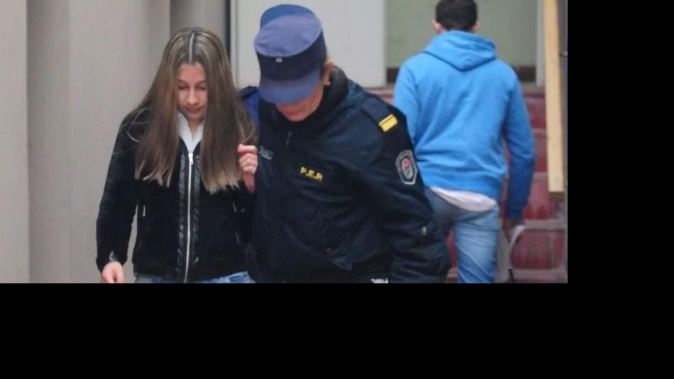 Nahir Galarza se encuentra detenida por el asesinato de su exnovio / Archivo.