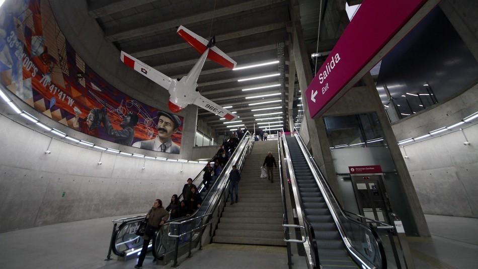Línea 6 extenderá horario de funcionamiento para cierre de la Teletón 2018