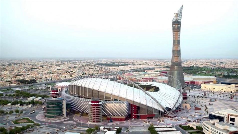 El imponente Khalifa Stadium. / Reuters