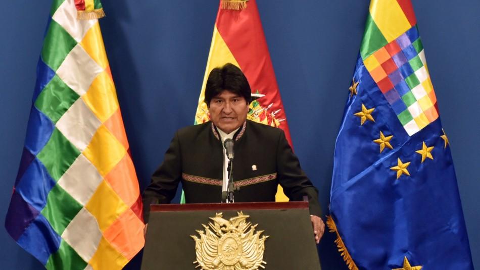 Evo Morales lidera inéditas primarias en Bolivia con 9 candidaturas presidenciales