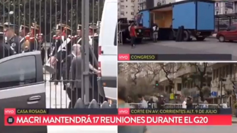 Bochornosa situación de reportero en Argentina / Captura