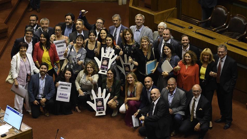 Diputados aprueban Ley Gabriela / Agencia UNO