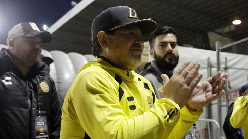 Maradona sueña con el ascenso.