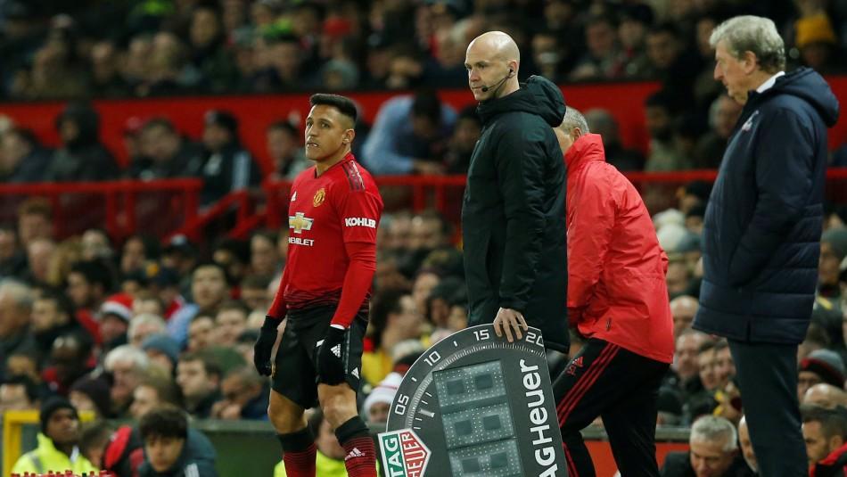 Alexis Sánchez padece desgarro.