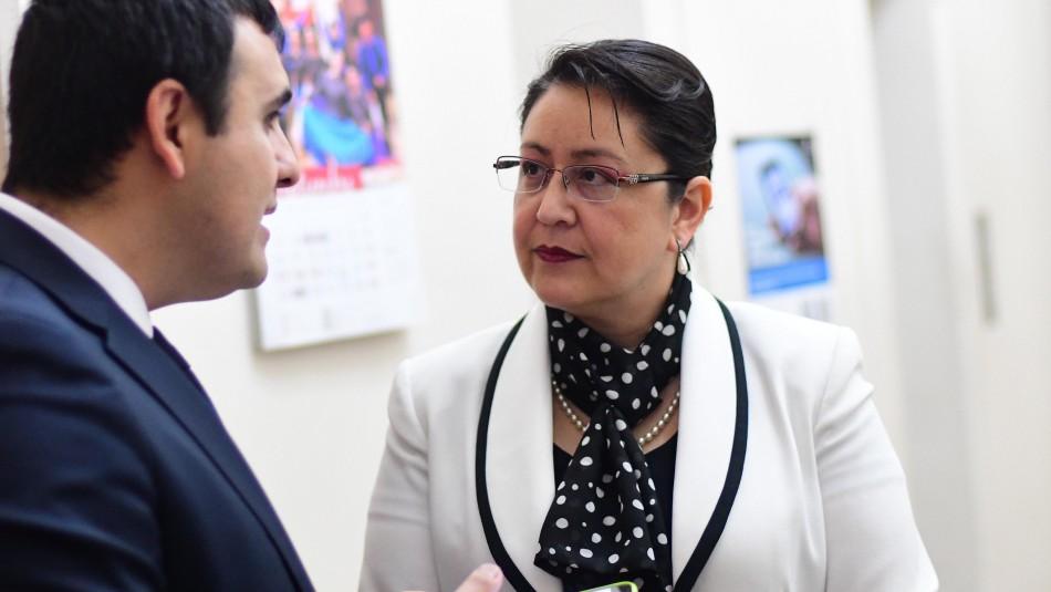 Corte Suprema falla a favor de Dorothy Pérez y ordena su inmediata reincorporación / Foto Agencia Uno