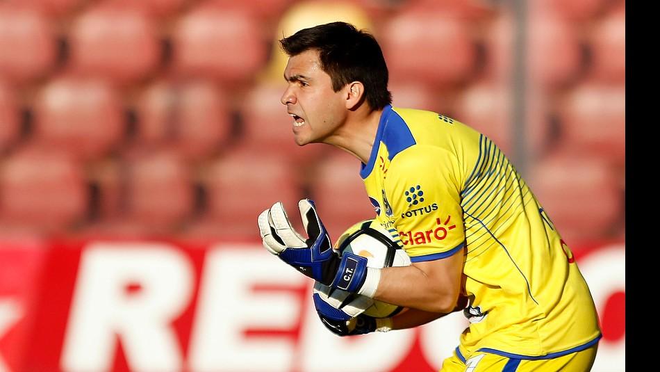 Toselli realizó gran campaña en Everton. / Agencia Uno