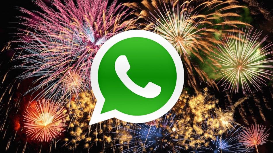 ¿Cómo felicitar a todos tus contactos de WhatsApp en este Año Nuevo? / Referencial Agencia.