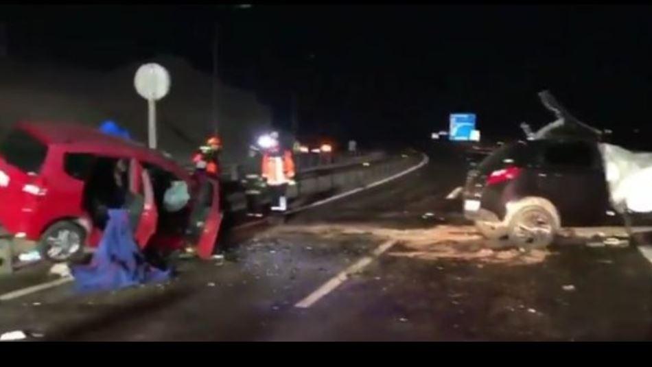 Imagen del accidente / Gentileza @EmergenciasRNS