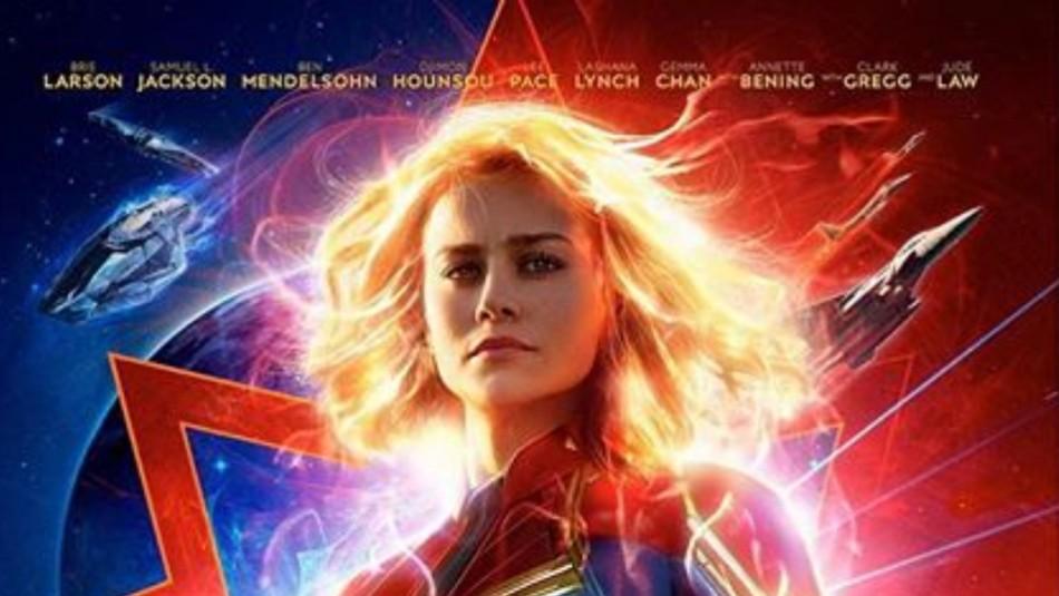 Brie Larson demostró parte de su entrenamiento para ser Captain Marvel / Instagram @brielarson.