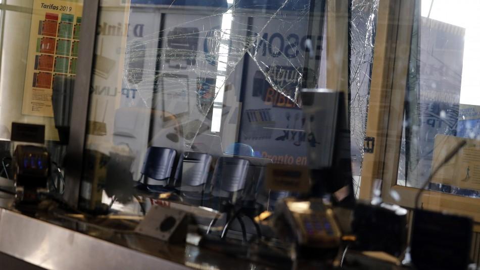 Violento asalto afecta a estación del Metro de Valparaíso