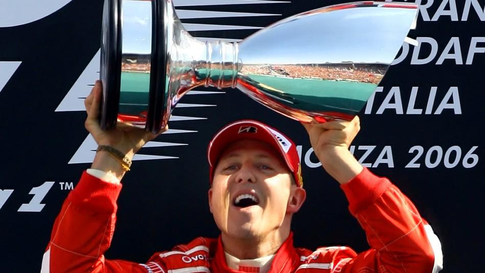 Schumacher celebra su cumpleaños 50. / Reuters