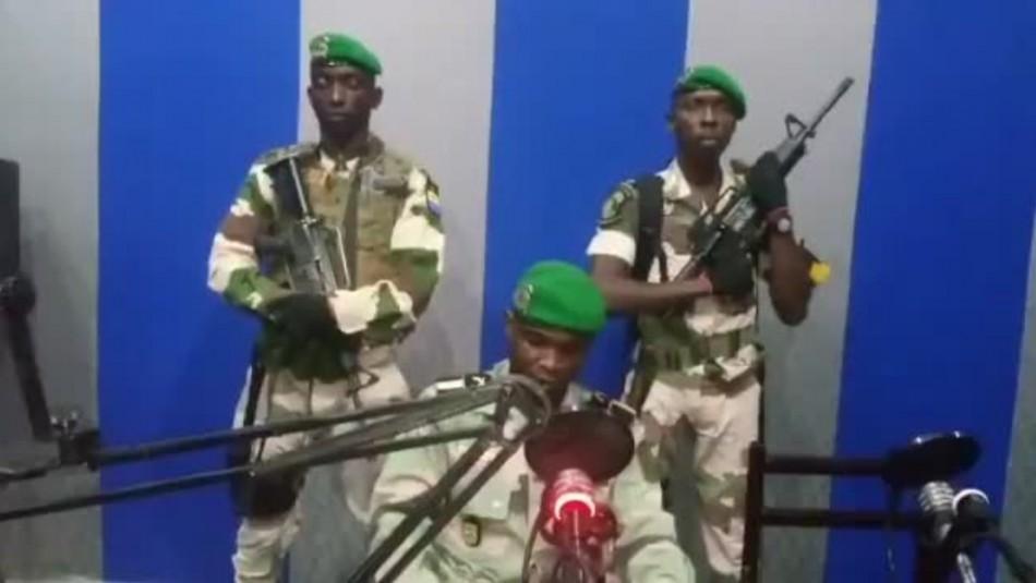 Militares de Gabón anuncian creación de Consejo de Restauración ante ausencia del presidente / Captura video.