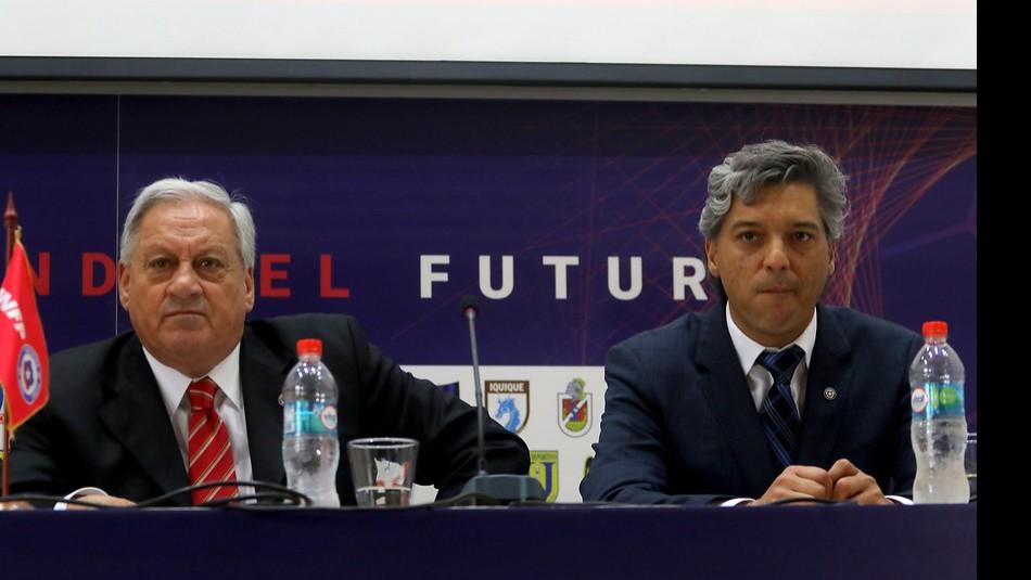 ANFP con nuevo presidente en medio de la polémica. / Agencia Uno