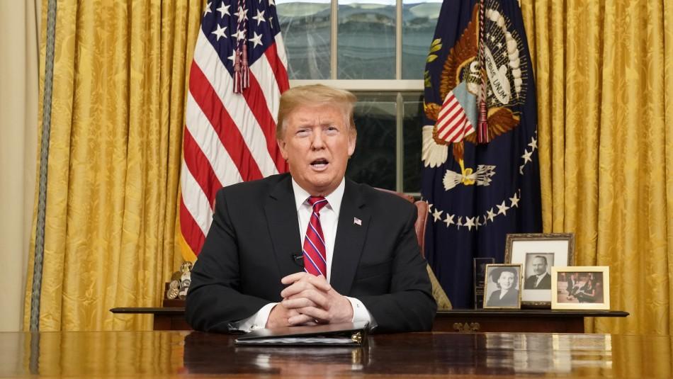 Trump asegura que situación en frontera de Estados Unidos con México es