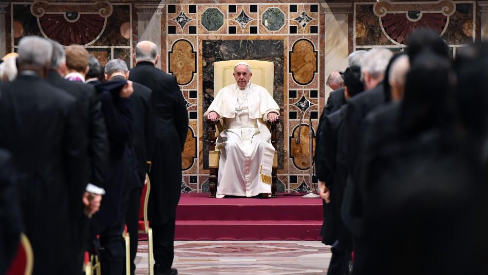 Obispos chilenos se reunirán con el Papa Francisco en el Vaticano / Referencial Agencia AFP.