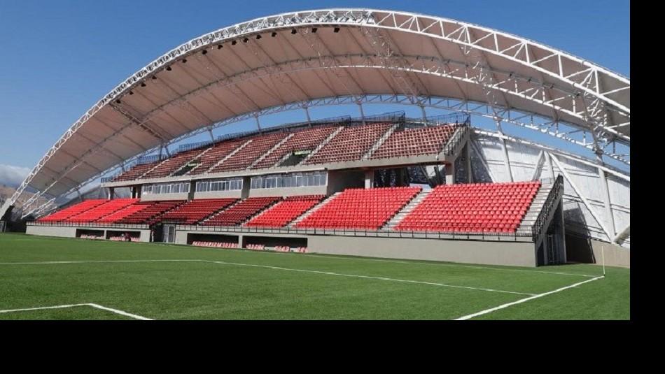 Así luce el nuevo estadio de La Calera. / Mindep