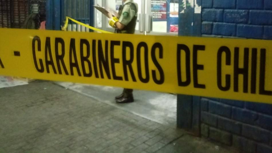 Hombre muere al interior del terminal de buses de Talca tras recibir un disparo / Redes sociales.