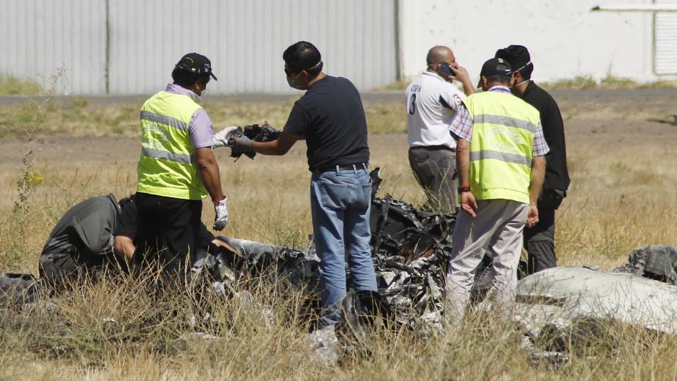 Piloto de avioneta accidentada en Tobalaba tiene el 80% de su cuerpo quemado