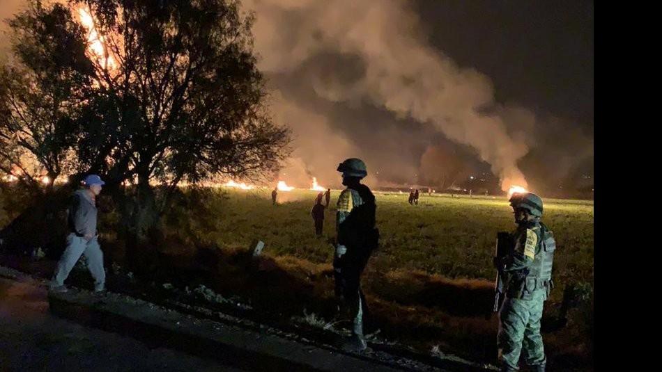 Explosión en México / Reuters