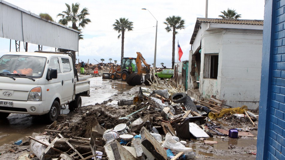 Terremoto de Coquimbo en 2015 / Agencia Uno