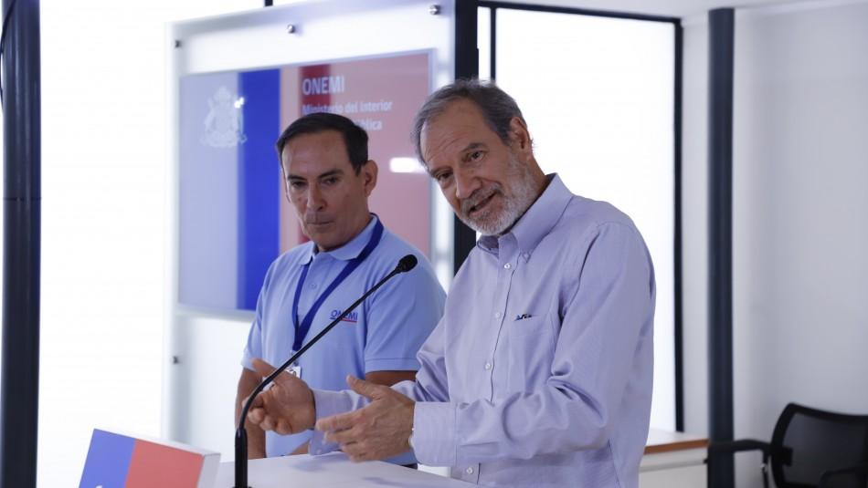 Ricardo Toro, director de la Onemi / AgenciaUno.