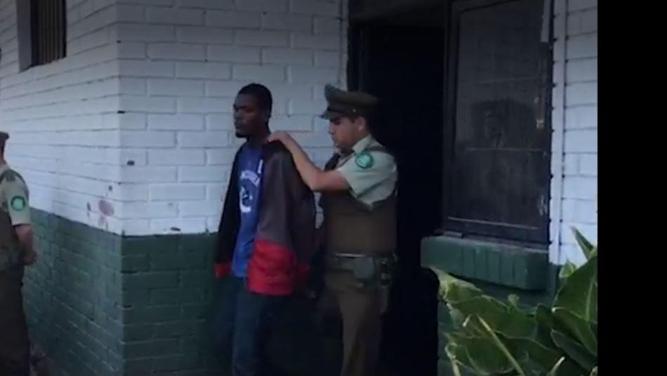 Detención del ciudadano haitiano / Ahora Noticias.
